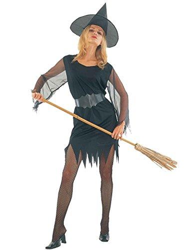 Islander Fashions Womens Halloween Party Disfraz de Bruja Sexy Ladies Fancy Dress Party Wear Outfit One Size
