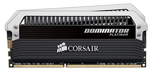 Corsair Dominator Platinum Memoria RAM da 8 GB, 2 x 4 GB, DDR3, 2133 MHz, DIMM 240, 9-11-11-31, 1.65V, 2133 MHz