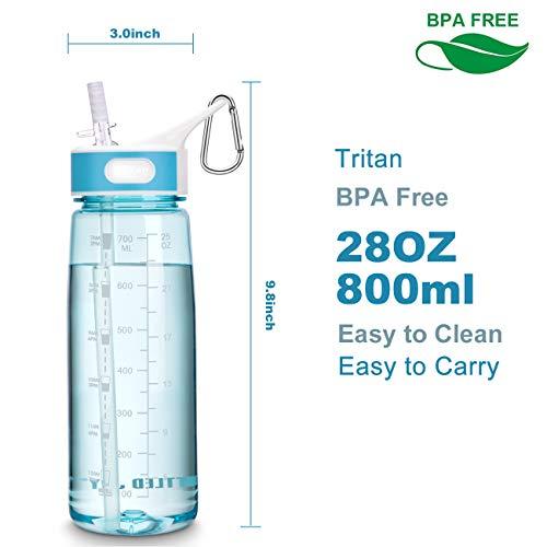 ストローボトル水筒BOTTLEDJOYウォーターボトル800ml1000mlBPAフリースポーツボトル子供大人兼用高い密封性直飲み軽量耐冷耐熱水筒ストロー
