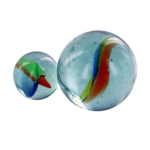 Murmeln, Glasmurmeln, Knicker, Glaskugeln | 162 Stück