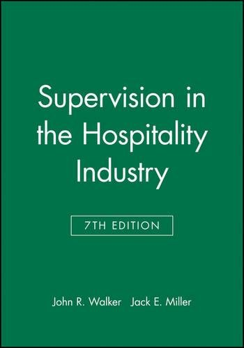 Study Guide to accompany Supervision in the Hospitality Industry, 7e