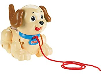 FIsher-Price Lil  Snoopy dog-themed pull toy for walking infants and toddlers
