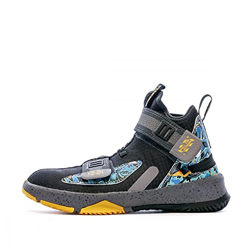 Nike Lebron Soldier XIII - Scarpe da basket da bambino, (Nero ), 35 EU