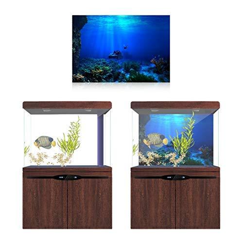 【𝐅𝐫𝐮𝐡𝐥𝐢𝐧𝐠 𝐕𝐞𝐫𝐤𝐚𝐮𝐟 𝐆𝐞𝐬𝐜𝐡𝐞𝐧𝐤】 Seaworld Poster, 3D Effektkleber für Aquarium Dekoration(122 * 46cm)