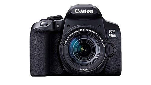 Canon EOS 850D DSLR Camera (18-55 mm Lens)