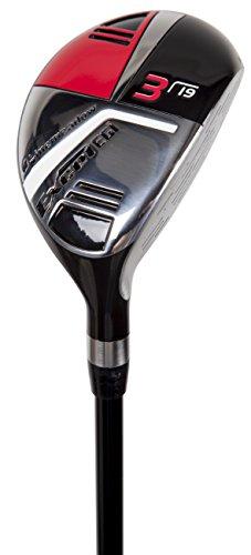 Pinemeadow Golf Men's Excel EGI Hybrid Club, Graphite, 19-Degree, 3, Regular, Left Hand