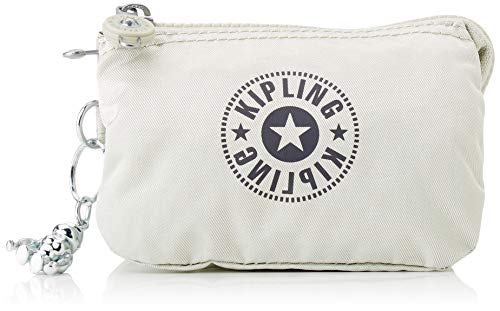 Kipling Creativity S, Pouches/Cases para Mujer, Dynamic Silver, 4x14.5x9.5 cm (LxWxH)