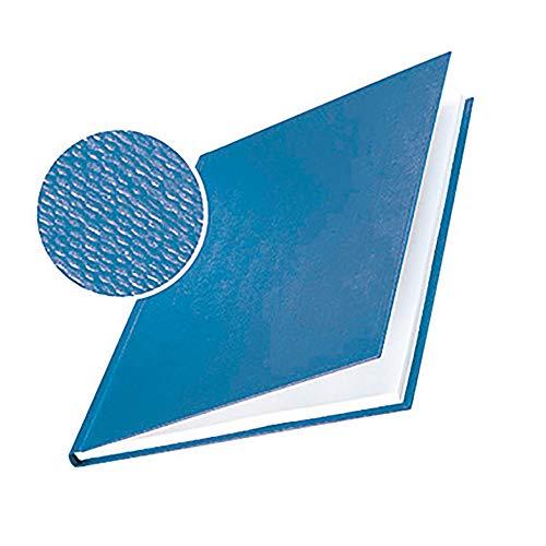 LEITZ Lot de 10 Couvertures Rigides 10.5 mm Bleu