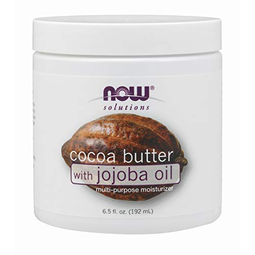NOW Solutions Cocoa Butter with Jojoba Oil MultiPurpose Oil 65Ounce