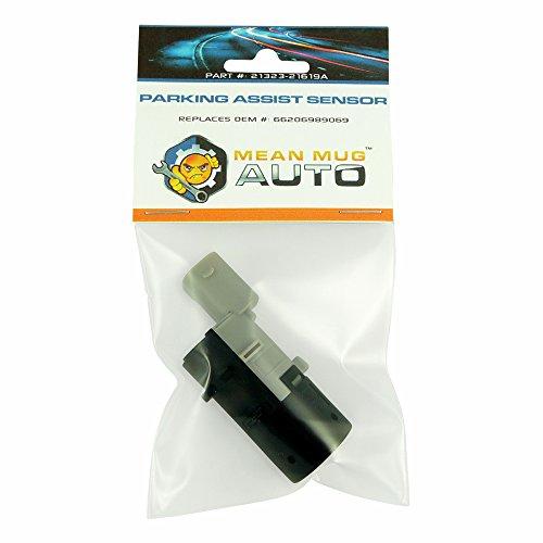 Mean Mug Auto 21323-21619A PDC Backup Parking Sensor - for: BMW - Replaces OEM #: 66206989069, 66216911838, 66200309541