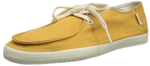 Vans M Rata Vulc Spruce Yellow - Zapatillas de Lona Hombre, Color Amarillo, Talla 42.5