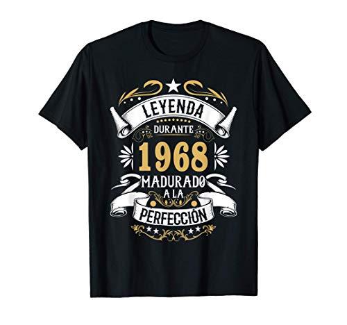 Regalo 52 cumpleaños hombres mujeres nacido en 1968 52 años Camiseta