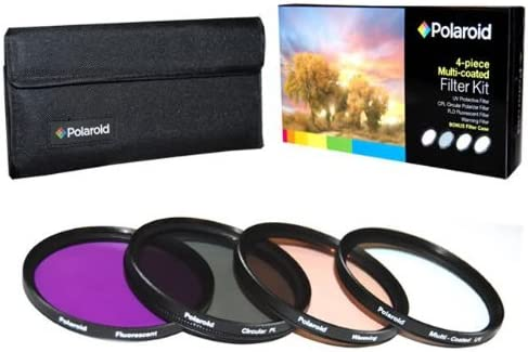 high quality Polaroid Optics 4 Piece Filter Set (UV, CPL, FLD, WARMING) For The Canon Digital EOS Rebel SL1 (100D), T5I (700D), T5 (1200D), T4i (650D), T3 (1100D), T3i (600D), T1i (500D), T2i (550D), XSI (450D), XS (1000D), XTI (400D), XT (350D), 1D C, 70D, 60D, 60Da, 50D, 40D, wholesale 30D, 20D, 10D, 5D, 1D X, 1D, 5D Mark 2, 5D Mark 3, 7D, 6D Digital SLR Cameras Which Has online sale Any Of These (18-55mm, 55-250mm, 75-300mm, 50mm 1.4 , 55-200mm, 70-300mm, 28mm, 85mm f/1.8) Canon Lenses outlet