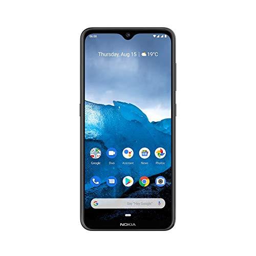 "Nokia 6.2 Smartphone (6.3"" Full HD+ con Pure Display, 4GB + 64GB, Triple cámara Trasera 16Mpx + 5Mpsx + 8Mpx, Snapdragon 636, Android 9), Color Negro"