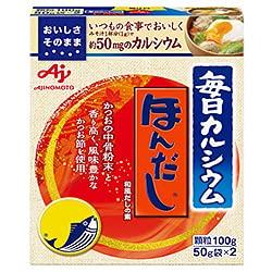 味の素 毎日カルシウム ほんだし 100g×10箱入