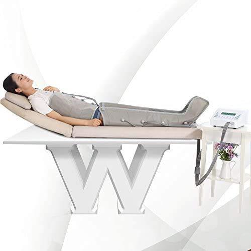 Pressoterapia professionale completa di due bracciali, due cosciali e cintura addominale
