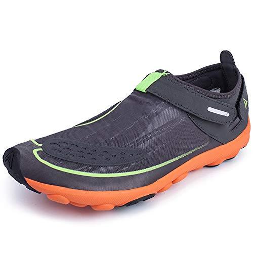 WHSS Zapatos de playa (verde) de gran tamaño para remo 2019 Zapatos de agua para hombre al aire libre (color: verde, tamaño: 8,5)