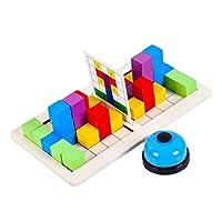 Colcolo 男の子女の子ビルディングブロックカラフルなゲームのための赤ちゃんダブルバトルブロック