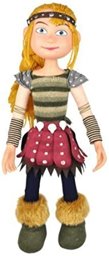 Astrid - How to Train Your Dragon 14  Poseable Plush   Vinyl Doll by IVS Group