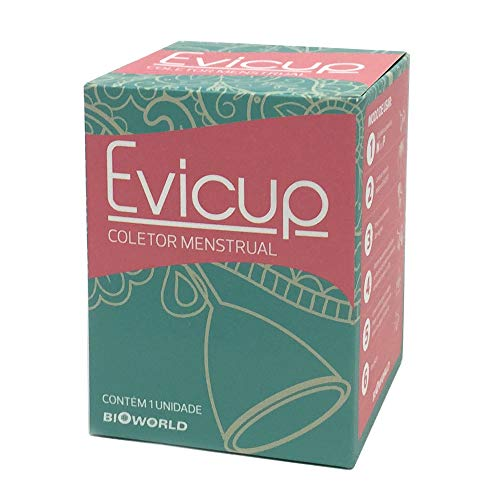 Evicup Coletor Menstrual Tamanho M. Substituto Moderno Do Absorvente. Econômico, Ecológico E Saudável., Bioworld