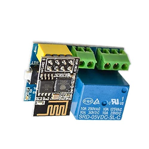 Relay Module Board ESP8266 ESP-01S WiFi Remote Relay Module Multi-Functional for Intelligent Home Industrial Control Supplies