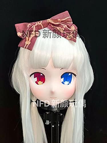 KuKu Comic Resin BJD CrossdresserCosplayAnimeKigurumi Doll Mask (standard 3/4)