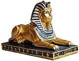 Ornement Occasionnel Statue Sphinx Modèle De Résine Collection Sculpture À La Maison Cabinet D'artisanat De Salon Cabinet De Vin HAODAMAI (Size : 5.5X2.5X4.5CM)