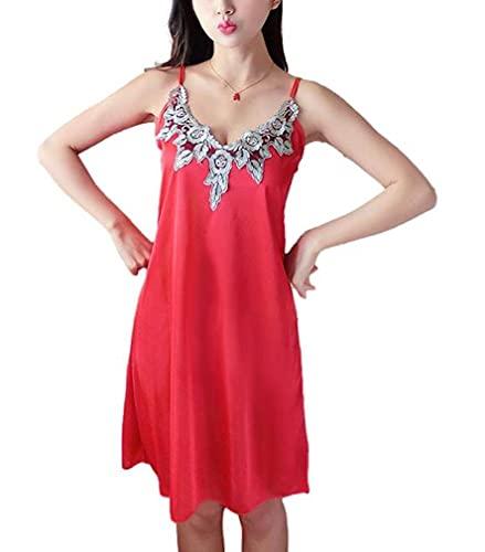 [ナチュラルリズム] セクシー ランジェリー ベビードール スリップ ナイトウェア フリー ネグリジェ ベビードレス night dreess for women 過激 ショーツ 大人 キャバ嬢 ドレス ナイトドレス babydoll サテン パジャマ レ