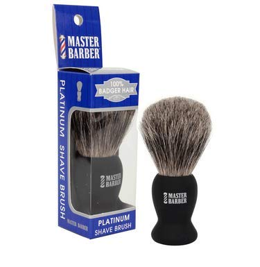 Master Barber 100% Badger Elegant Brush Max 46% OFF Platinum Shave Hair