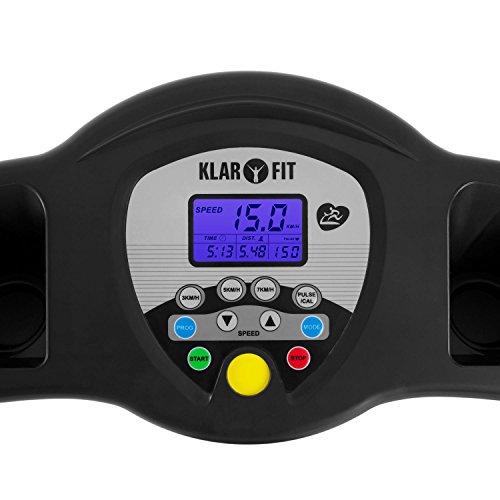 Heimtrainer Laufband Klarfit Pacemaker X3 Bild 2*