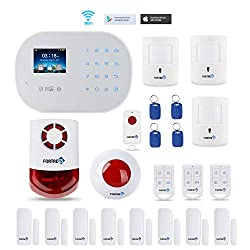 GSM 3G/4G WiFi Security Alarm System-S6 Titan Deluxe Wireless DIY for Home and Business Security System Kit.