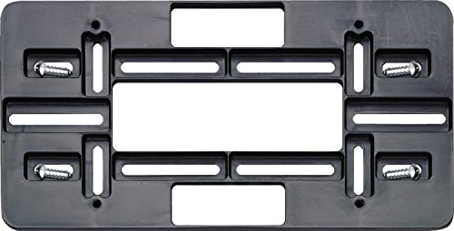 Cruiser Accessories 79150 Mounting Plate, Black, 1 mount