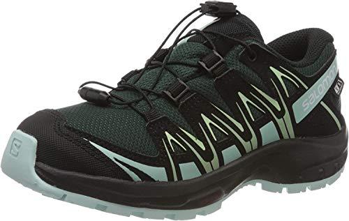 Salomon Kinder Sportschuhe, XA PRO 3D CSWP J, Farbe: grün (Green Gables/Icy Morn/Patina Green), Größe: EU 38