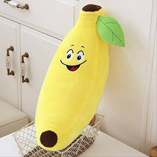 NOBRAND - Cojín para sofá, diseño de dibujos animados de plátano