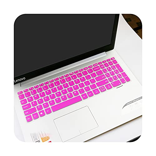 Cubierta del teclado del ordenador portátil Skin Protector para Lenovo ideapad 320 17 V320 330 17 330-17 330-17ikb 320-17IKBR V320-17IKB 17.3'-rosa