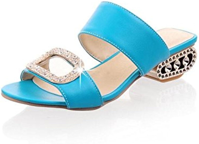 Bbslt-le Frühling und Sommer mit Wasser in der Segmenthhe der Fisch Mund Schuhe Hausschuhe mit einem unten Schuhe Frauen an die sprechen und