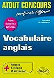 Vocabulaire anglais (Atout Concours)