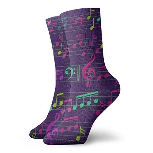 Chaussettes de sport pour hommes Crew Socks Snow Snowflake Polar Bear Designer Unisex Sports Stocking Holiday Sock Clearance For Senior