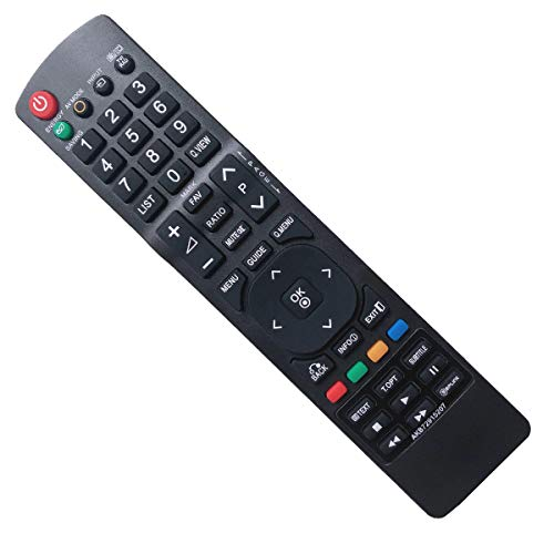 EAESE Sostitutivo Telecomando TV LG AKB72915207 di Ricambio per LG TV - 42LD420 42LD420 32LD465 32LE3300 37LD450 19LD350 22LD350 22LE3300 42LD420 32LD465 32LE3300 37LD420 37LD450 37LD465