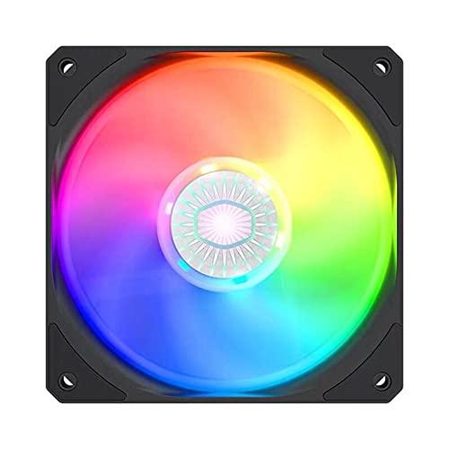 Ventilador de levitación magnética de alta presión de bajo ruido, 140 mm ARGB LED PC Case Fan direccionable RGB LED Iluminación Chasis Ventilador de refrigeración