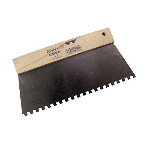 Connex Zahnspachtel 250mm Z. C2 6,0x6,00mm