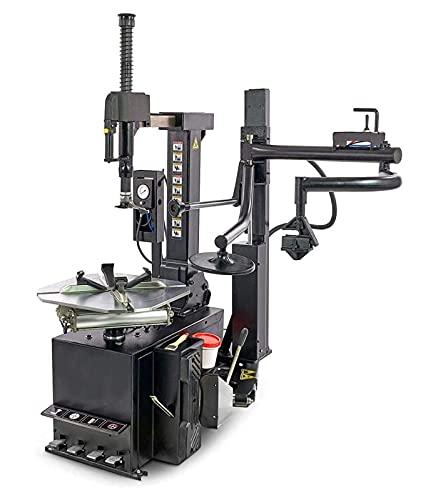 """Profi Reifenmontiermaschine 10\'\' - 24\'\' Reifen Montiermaschine mit Hilfsarm 10-24\"""", einfache Bedienung, robuste Technik, Spannung 230V, Innendurchmesser der Felge 12\'\'-26\'\', Max. Raddurchmesser 43\"""""""