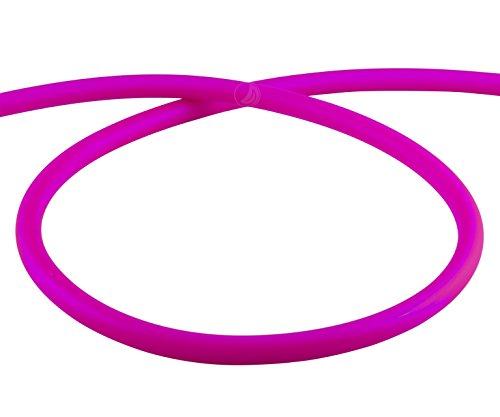 AMY Deluxe Shisha Silikonschlauch matt - pink | 150 cm
