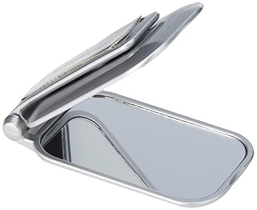 3 Claveles - Espejo de bolsillo con aumento 2x, 7,5x10 cm