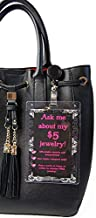 Purse Tag Ask Me About My $5 Jewelry   Join My Team   Double Sided