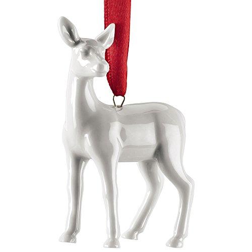 Hutschenreuther Weihnachtsbaumschmuck, Weiß