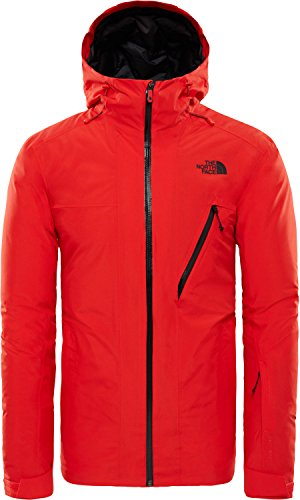 The North Face Herren Descendit Skijacke rot XL
