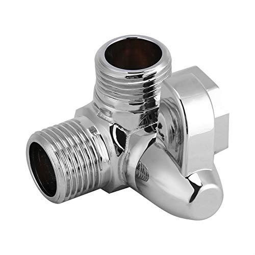 Adattatore doccia, durevole deviatore doccia a tre vie, miscelatore termostatico valvola doccia per impianto idrico domestico per doccia a braccio doccia a parete per montaggio a parete