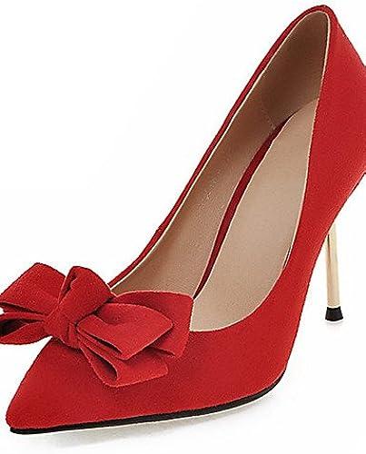 GGX  zapatos de tacón zapatos de tacón de aguja de las mujeres   de la novedad   talones del dedo del pie en punta de la boda