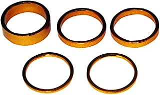 Bazooka铝头垫组 1-1/8 金色 2mm/5mm/10mm AHGLD